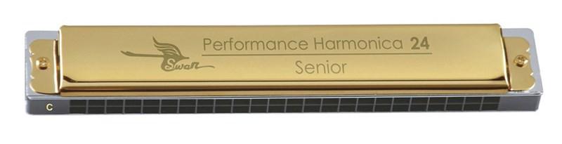 SW24-1 Губная гармошка тремоло