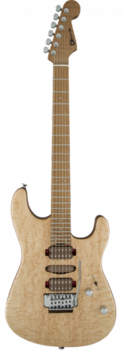 Guthrie Govan Signature Bird`s Eye Maple, Maple Fingerboard, Natural Top with Caramelized Basswood Body