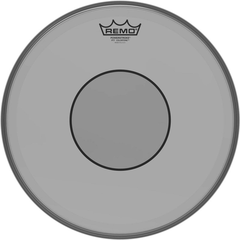 P7-0314-CT-SM Powerstroke® 77 Colortone™ Smoke Drumhead, 14.