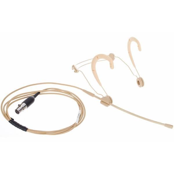 Т BETA 53 головной конденсаторный микрофон с круговой диаграммой направленности, разъем TQG (для радиосистем), телесного цвета