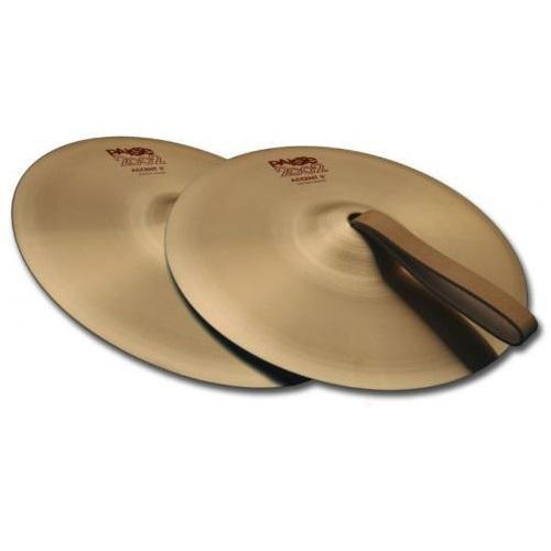 2002 06 ACCENT CYMBAL WITH LEATHER STRAP