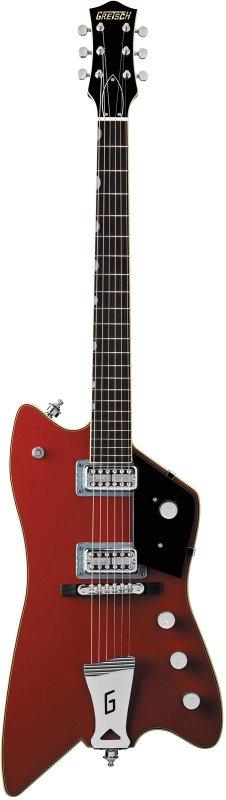 G6199 Billy-Bo Jupiter Thunderbird, `G` Cutout Tailpiece, TV Jones®, Rosewood Fingerboard, Firebird Red
