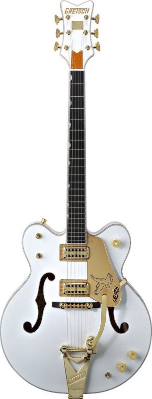 G6636T Players Edition Falcon™ Center-Block Double Cutaway with Bigsby, Filter`Tron™ Pickups, White