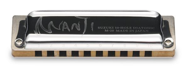E/M-20C (15201) губная гармошка, Ebony Manji