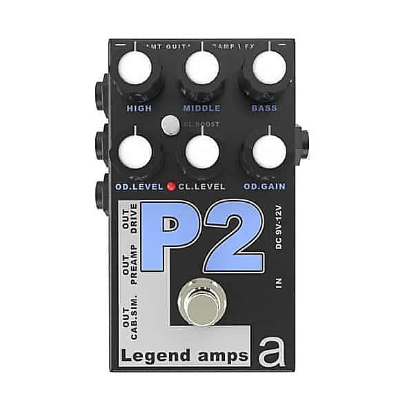 P-2 Legend Amps 2 Двухканальный гитарный предусилитель P2 (PV-5150)