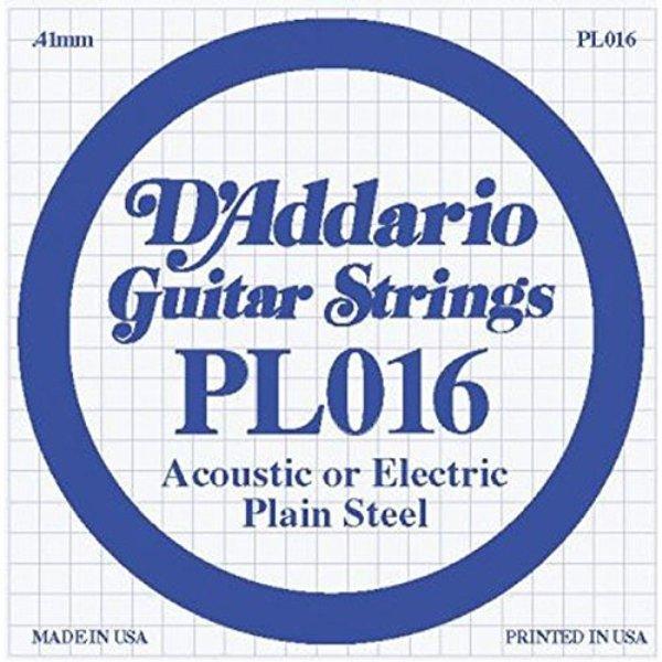 PL016 Single Plain Steel 016