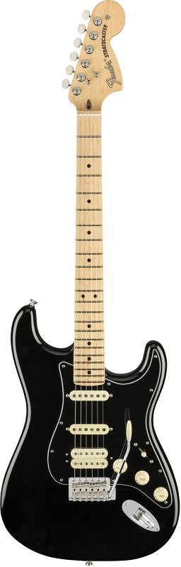 AMERICAN PERFORMER STRATOCASTER® HSS, MAPLE FINGERBOARD, BLACK фото