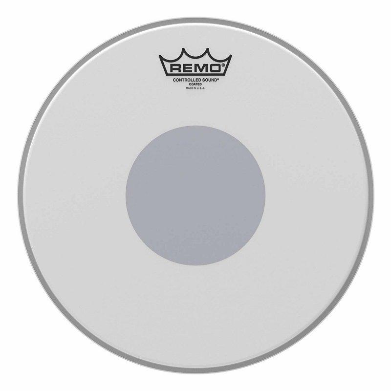 CS-0112-10- Batter, CONTROLLED SOUND®, Coated, 12` Diameter, BLACK DOT™ On Bottom
