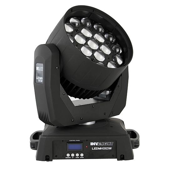 LED MH1915W - LED вращающаяся голова, 19x15 Вт RGBW (LED Engin), DMX-512