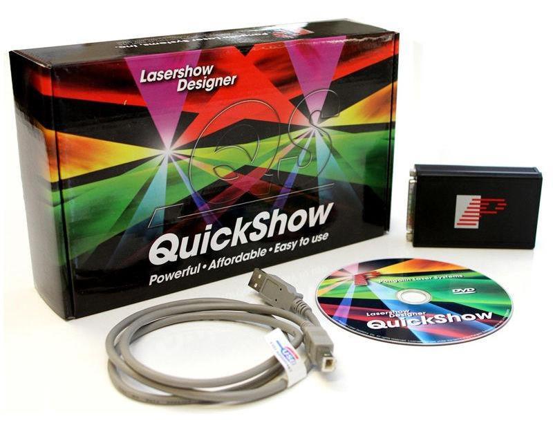 Quick-show Pangolin Контроллер и программное обеспечение для создания лазерных шоу
