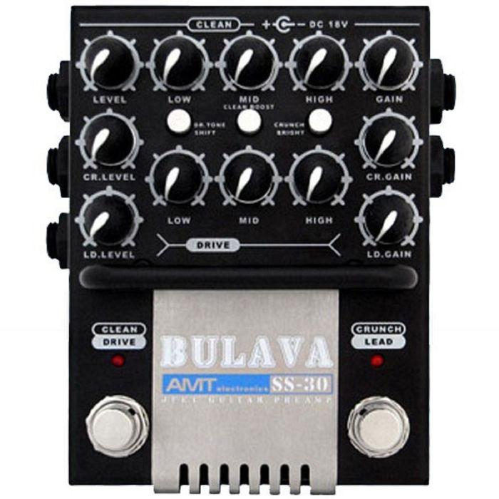 SS-30 «BULAVA» Гитарный предусилитель на JFET-транзисторах