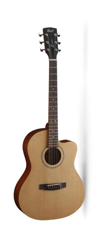 JADE1-OP Jade Series Акустическая гитара, с вырезом, цвет натуральный