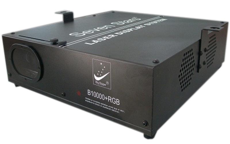 B10000+RGB Лазерный проектор, красный+зеленый+синий