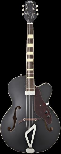 G100BKCE Synchromatic™ Archtop Cutaway Electric, Rosewood Fingerboard, Flat Black фото