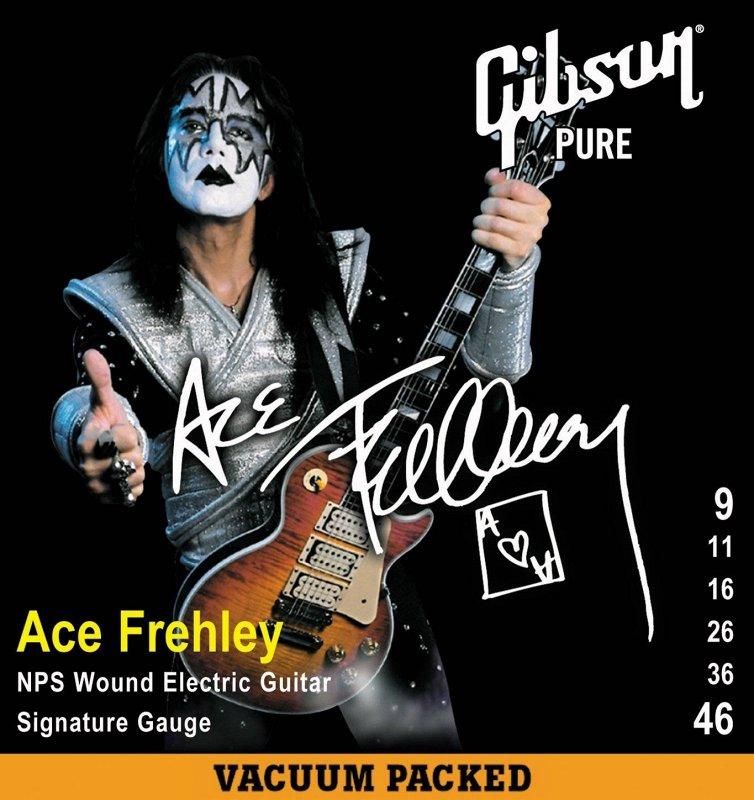 SEG-AFS ACE FREHLEY SIG. ELECTRIC .009-.046