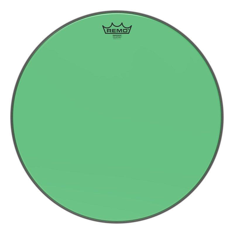 BE-0318-CT-GN Emperor® Colortone™ Green Drumhead, 18.