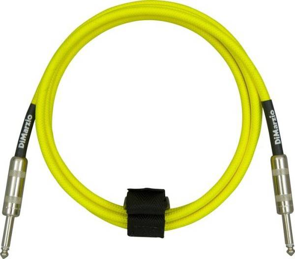 INSTRUMENT CABLE 10` NEON YELLOW EP1710SSY