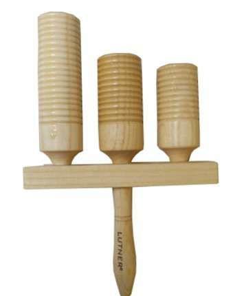 FLT-G5-3 Агого тон-блок деревянный на ручке 3 шт