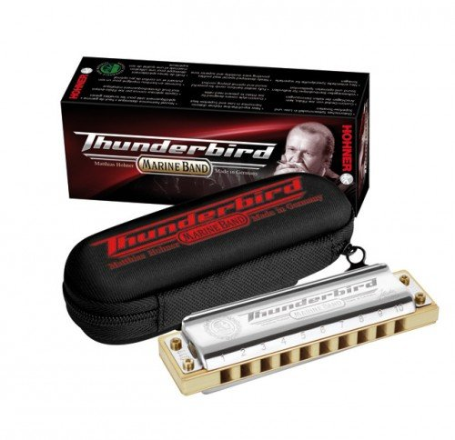 M201174 Marine Band Thunderbird Bb-low Губная гармошка