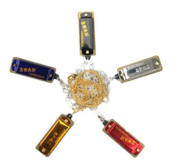SW4-3 Губная гармошка миниатюрная