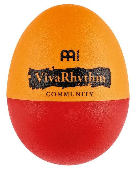 VR-ES2 Шейкер-яйцо, красный/оранжевый, 2 штуки