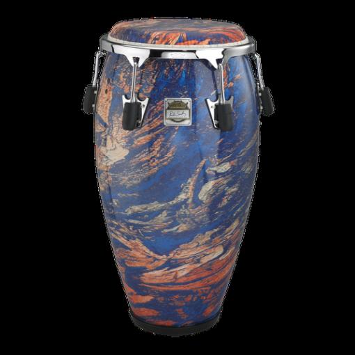 CG-3117-MS- PONCHO SANCHEZ™ Conga, 11.75` Diameter, 30` Depth, Chrome Curved Rim Hoop, FIBERSKYN® Head, Fabric Molten Sea