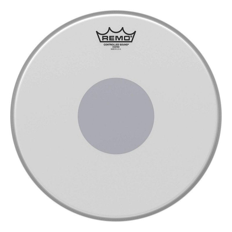 CS-0113-10- Batter, CONTROLLED SOUND®, Coated, 13` Diameter, BLACK DOT™ On Bottom