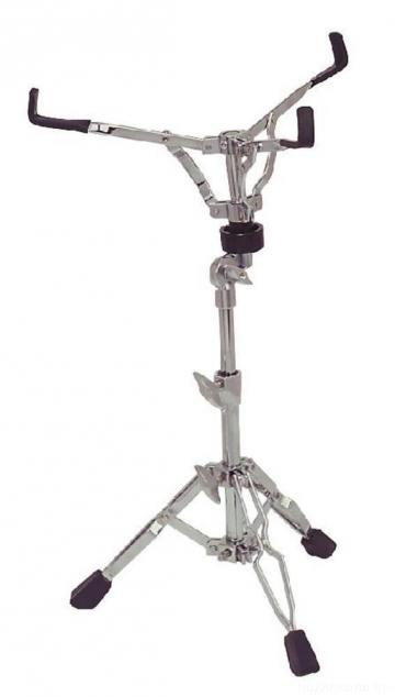 DrumCraft DC 1 SS-1 стойка малого барабана, двойные ножки, регулируемая по высоте, хром, 2,2 кг