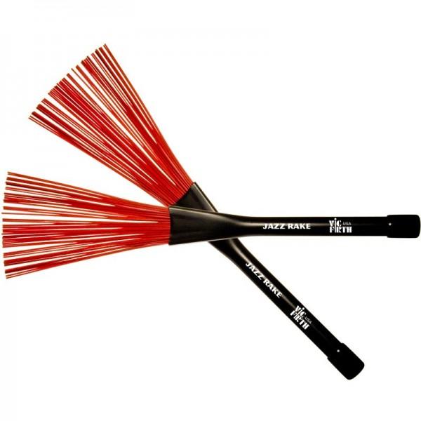 BJR Jazz Rake – red plastic
