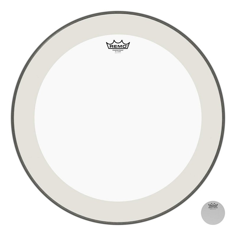 P4-1322-C2- Bass, POWERSTROKE® 4, Clear, 22` Diameter, With Impact Patch