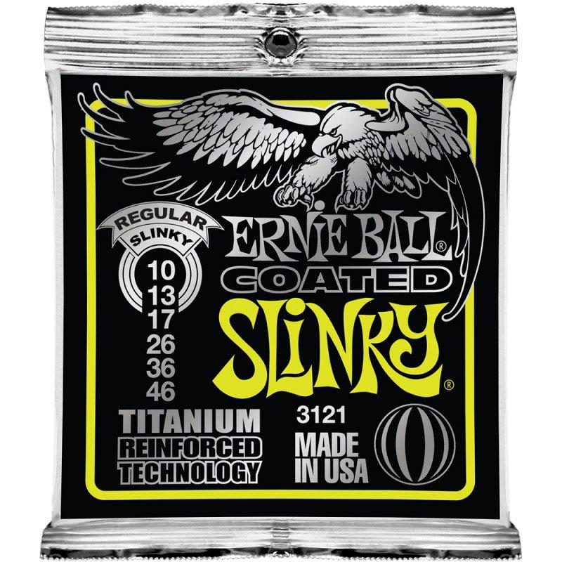 3121 струны для эл.гитары Titanium RPS Regular Slinky (10-13-17-26-36-46)