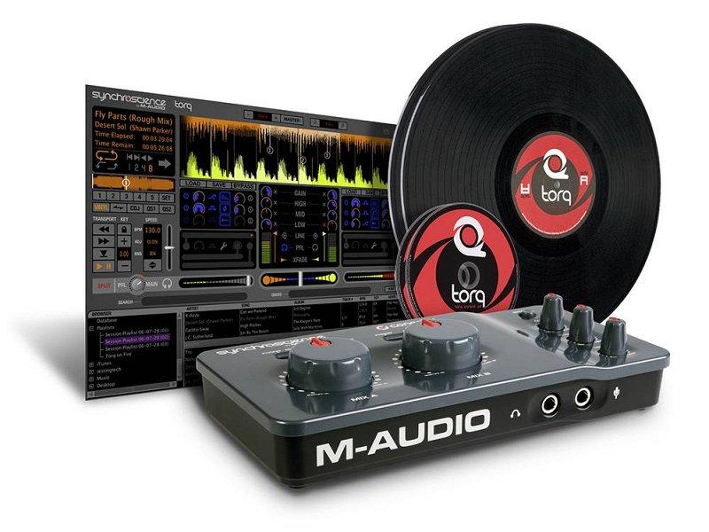 Torq Conectiv Vinyl/CD Pack USB 44, 44, Mic., phono-preamp, CD