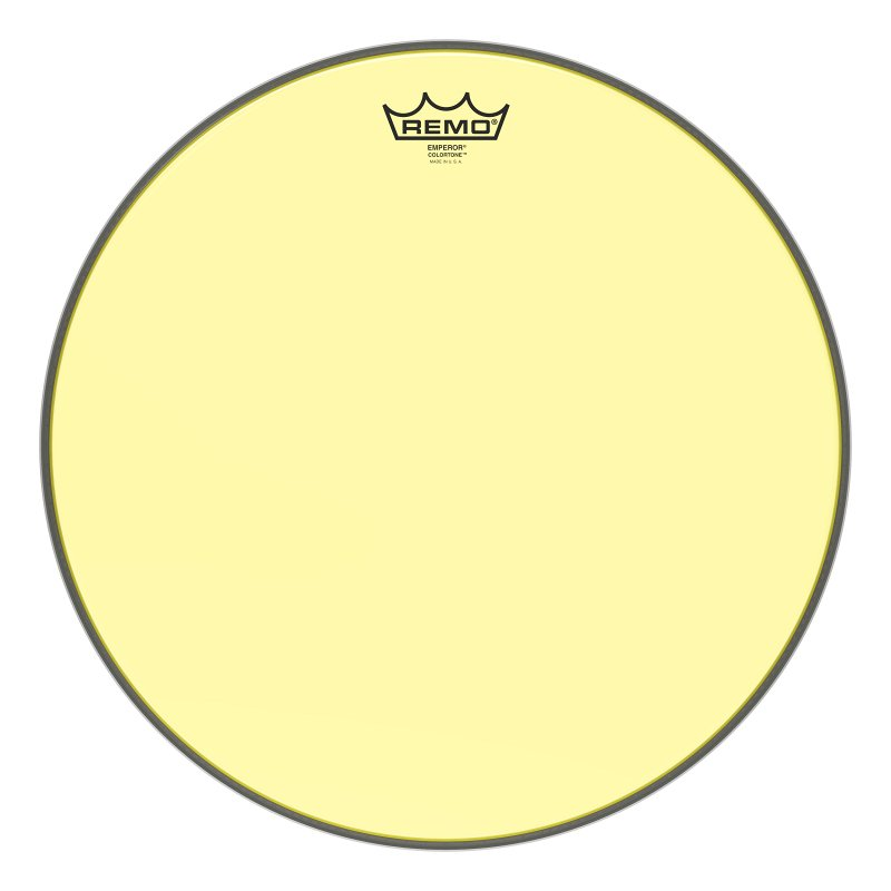 BE-0316-CT-YE Emperor® Colortone™ Yellow Drumhead, 16.