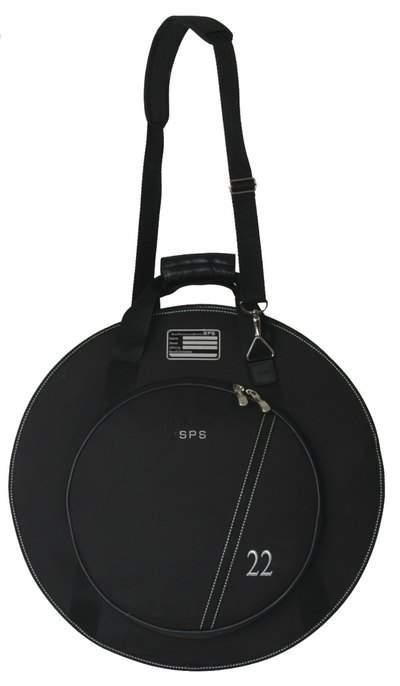 SPS Cymbal Bag 22`` чехол для тарелок 22`, внешние карманы 17` и 15`, утеплитель 20 мм