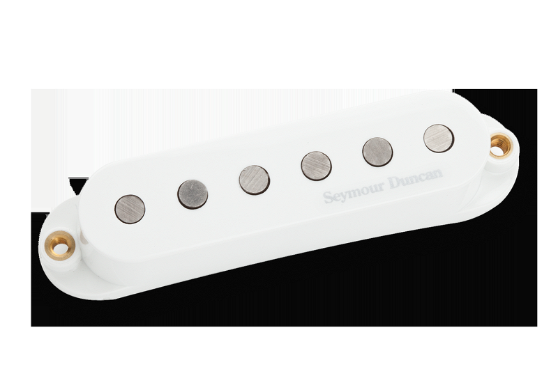 L-CS2B LiveWire II Classic Strat BRIDGE WHITE