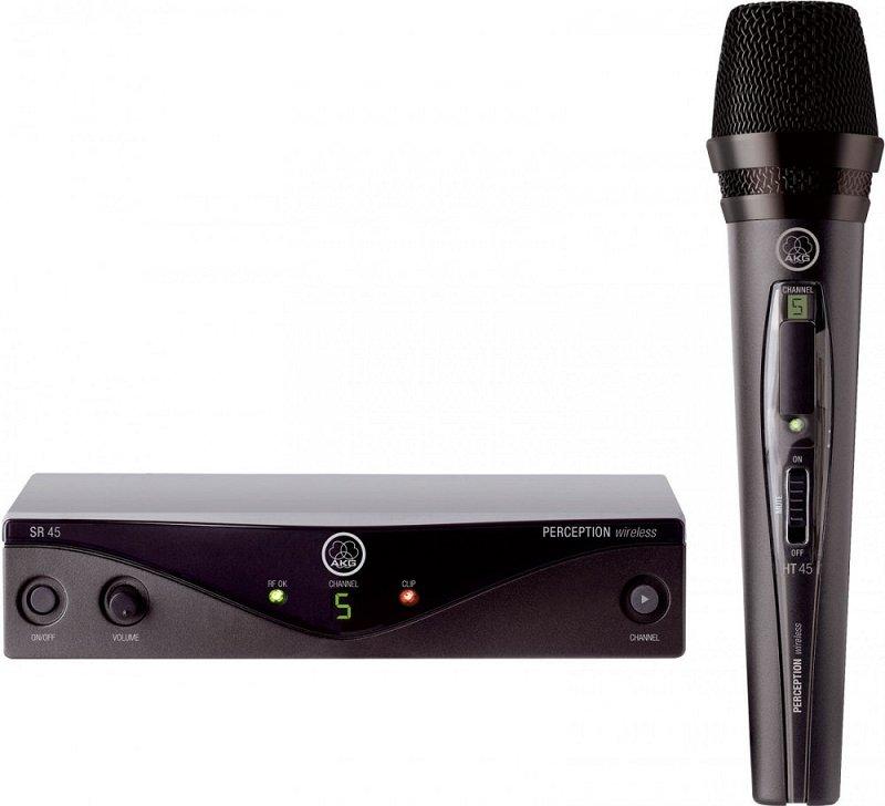 Perception Wireless 45 Vocal Set BD B1