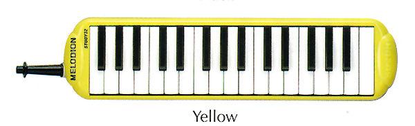 Study32 мелодика духовая клавишная 32 клавиши в кейсе/цвет желтый