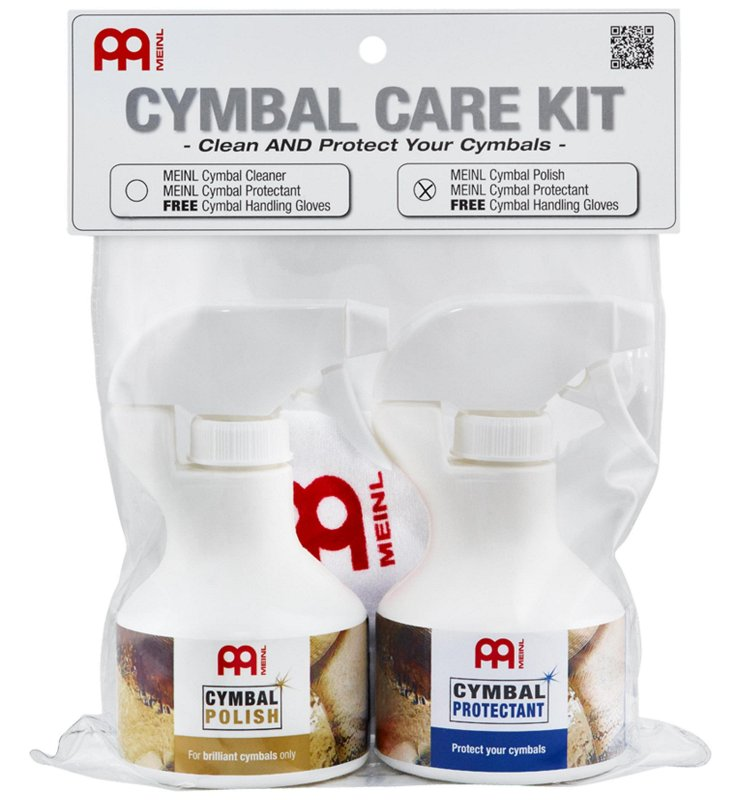 MCCK-MCP Cymbal Care Kit with MCP + MCPR + Free MEINL Cymbal Handling Gloves