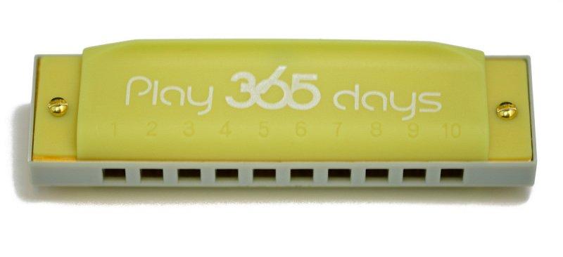P365-1LE диатоническая губная гармошка детская/ С-До/Цвет лимон