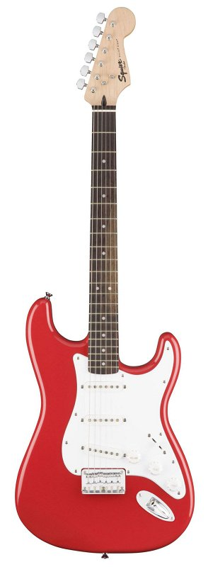 SQUIER Bullet Stratocaster® SSS Hard Tail, Rosewood Fingerboard, Fiesta Red фото
