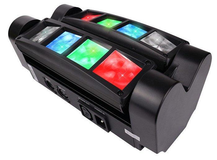 LM30 Моторизированный мини-прожектор смены цвета (колорчэнджер), 8*3Вт