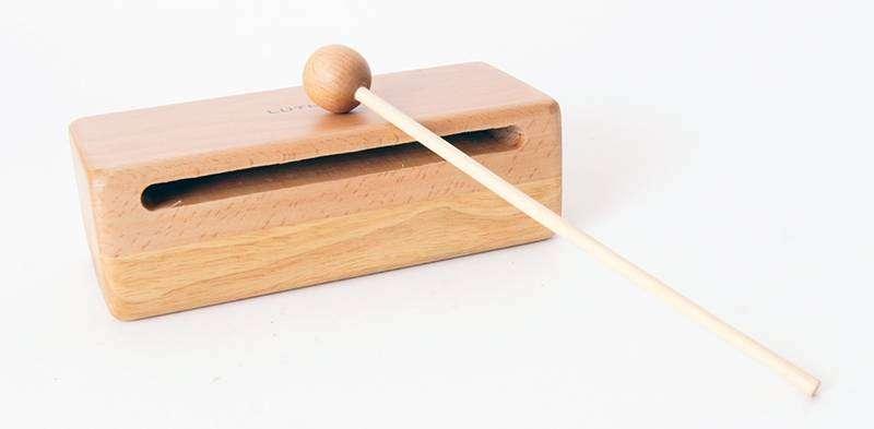 FLT-WB3 Блок деревянный, 18х6х6.2см