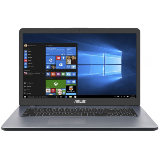 ASUS X705UA-GC860T BTS19 17.3`FHD/4417U/4GB/1TB/INTEL HD 610/NOODD/WINDOWS 10 HOME/STAR GREY
