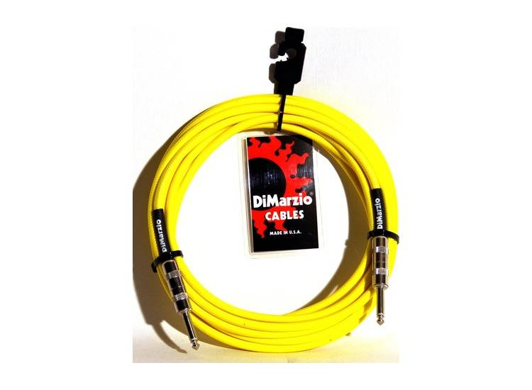 INSTRUMENT CABLE 18` NEON YELLOW EP1718SSY