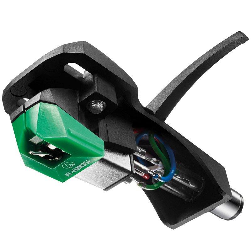VM95E/H Составная эллиптическая игла в комплекте с Хэдшеллом, цвет зеленый