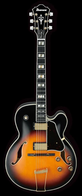 AF200-BS, полуакустическая гитара с кейсом