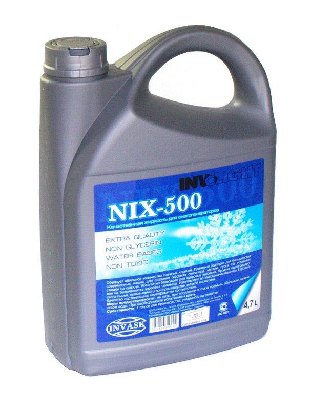 NIX-500 - жидкость для снегогенератора, 4,7 л