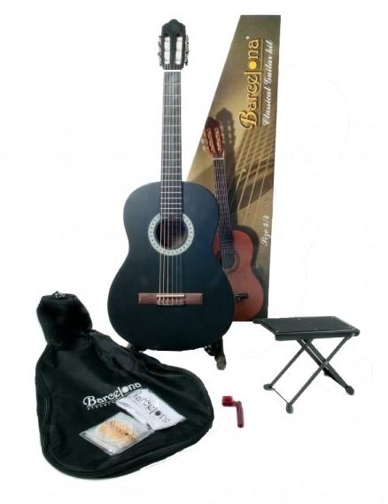 CG11K/BK - Набор:Классическая гитара, чехол, подставка, струны