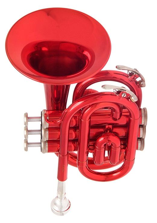 JP159R Труба Bb компактная, красная