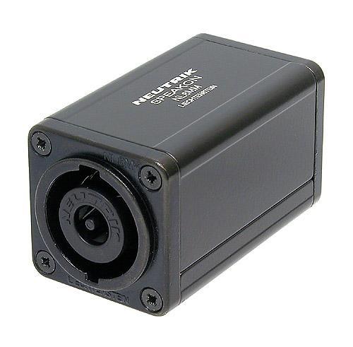 NL8MM - переходник Speakon-Speakon, 8-ми контактный, (`бочонок`)